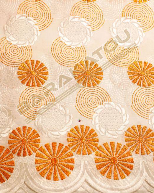 138_Brod-Aut_Blanc- Motif orange _02