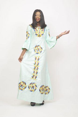 Robe Femme Bazin Bauer de Luxe