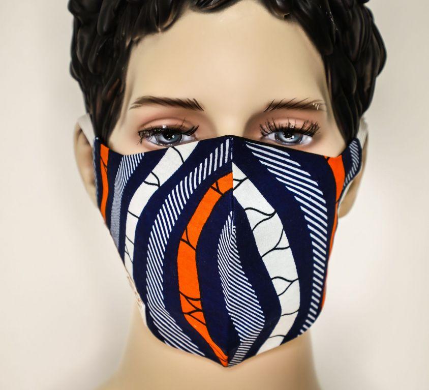 Masque Wax Mitex Holland, Motifs Vagues B-B-O